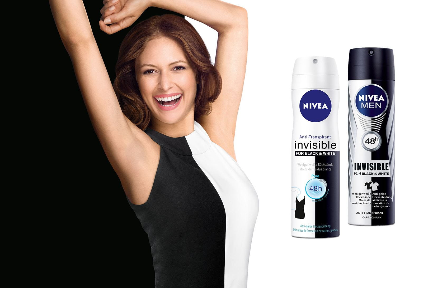 Innovation NIVEA Déodorant Invisible for Black & White