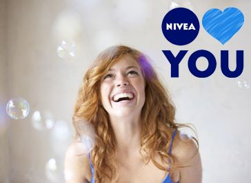 NIVEA LOVES YOU INSCRIPTION